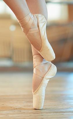 Ballett Schuhe